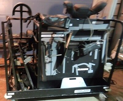 Mizuho/OSI Axis Jackson Spine/Orthopedic Table #6977 CART AND ACCY'S ONLY