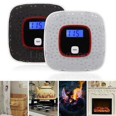 LCD CO Carbon Monoxide Gas Alarm Sensor Poisoning Smoke Gas Tester Detector NEW