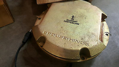 NOS Crouse Hinds Flush Airport Runway Edge Light 850C1-B-115-CC