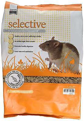 Supreme Petfoods Science Selective Rat 1.5 kg Helps Maintain A Healthy Heart New