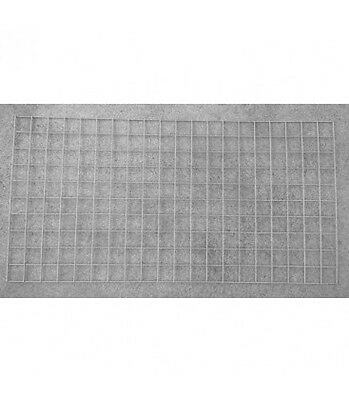 Welded Gabion Panel 1000mm x 500mm, 3mm diameter (50x50mm) Stainless Steel 316L