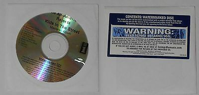 The All-American Rejects  Kids In the Street  sealed U.S. promo cd