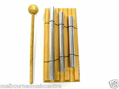 TOCA 3 TONE BARS Long Sustain Rich Sounding Aluminum Alloy *w/Mallets* NEW!