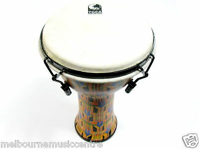 """TOCA 12"""" DJEMBE Mechanically Tuned *Excellent Bass Tones & Highs* NEW!"""