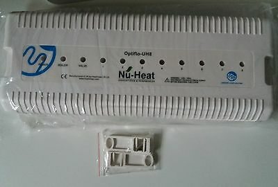 Nu-Heat UH8 - 8 Zone 230v Wiring Centre same as Heatmiser