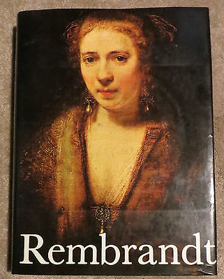 REMBRANT Paintings by Horst Gerson full of pics (11 x 14.5 x 2 inches) 527 pages