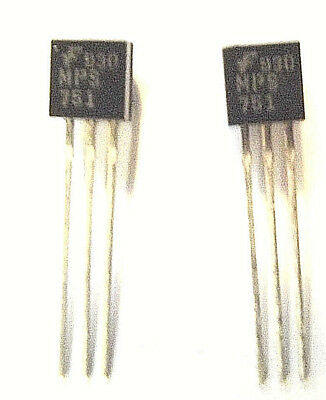 MPS751 Fairchild Trans GP BJT PNP 60V 2A 3-Pin TO-92  x2pcs
