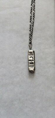 CAST OF VICES - Silver XANAX NECKLACE