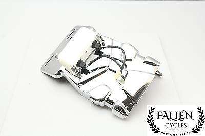 02 Harley Softail Deuce FXSTDI License Plate Mount Bracket