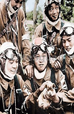 WW2 Picture Photo Corporal Yukio Araki (that died the following day at the 771