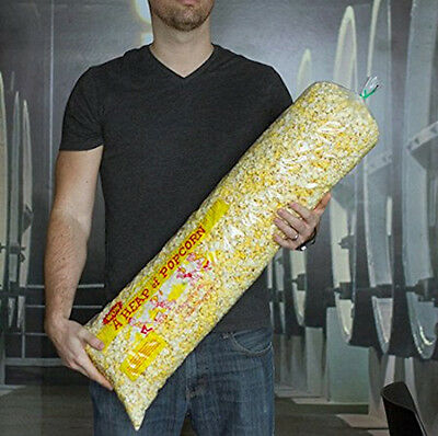"""""""A Heap of Popcorn"""" 30"""" Long Pop Corn Bags - Pack of 100 Plastic Carnival Style"""