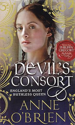 Devil's Consort by Anne O'Brien (Paperback) New Book