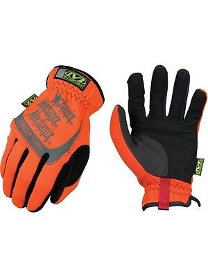 Mechanix Orange Fast Fit Mechanic Gloves