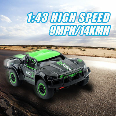 2.4G 1/10 High Speed Remote Control RC Racing Car Monster Truck Off-Road UK Toys
