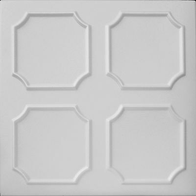 POLYSTYRENE TILES  PANELS WALL CEILING (Pack of 24) 6 Sqm - DECO