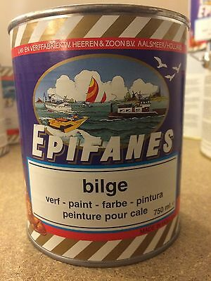 Epifanes Bilge Paint in White 750ml BPW.750 (2 litre available) FREE Delivery