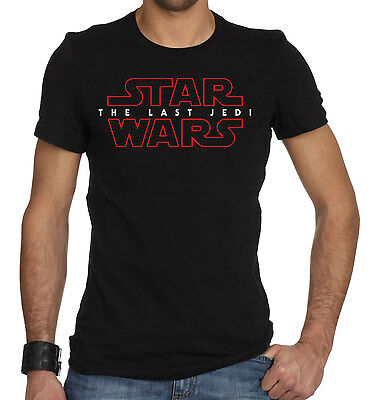 Star Wars The Last Jedi Mens Black T-Shirt