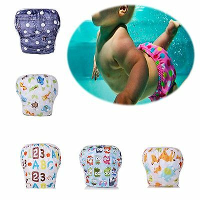 Washable Reusable Summer Pants Swim Diaper Waterproof Nappy Baby Product