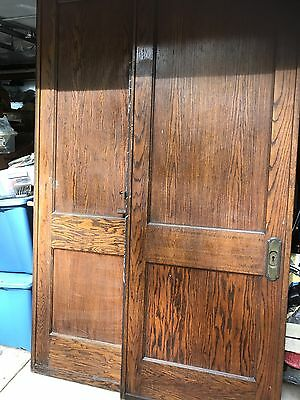 Pair of beautiful 2 Panel Pocket Doors