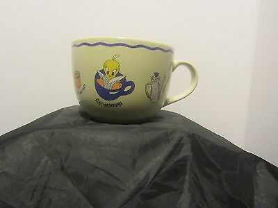 Looney Tunes Taz, Tweety Bird & Bugs Bunny Coffee Cup/Soup Mug Oversize