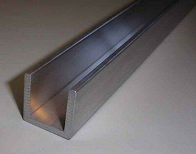 Aluminium C Profile/U Channel  Various Size Free Cut Service