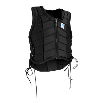 Pro Safety EVA Padded Breathable Body Protector Vest for Equestrian Horse Riding