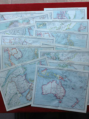 Sixty + Antique  19Th Century World Maps....