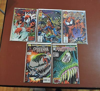Planet of the Symbiotes #1 2 3 4 5 complete run Spider-Man Venom Carnage NM-/NM
