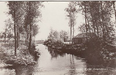 BUNGAY(Suffolk) : The River,Bungay RP-JUDGE'S series