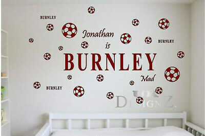 Huge Personalised Wall Decal of the Sports Team of your choice Wall Art  *OFFER*