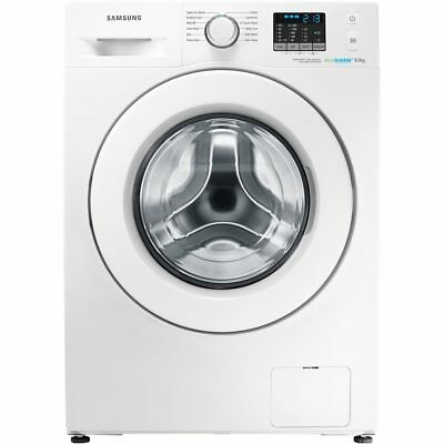 Samsung WF80F5E0W4W Ecobubble A+++ 8Kg Washing Machine White New from AO