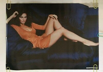 Lynda Carter Vintage Poster Couch Wonder Woman Pin-Up 1970's Superhero Pro Arts