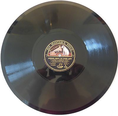78 trs D1530 - HIS MASTER'S VOICE-WAGNER-SIEGFRIED -BY DR.LEO BLECH -N196