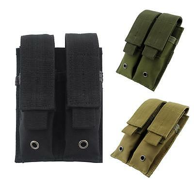 Molle Double Magazine Pouch Pistol Mag Holder for Hunting