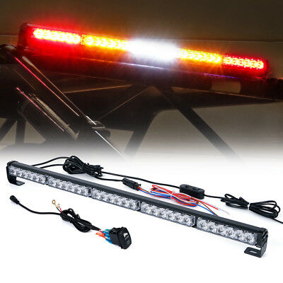 "Rz Series Rywyr 30"" Offroad Rear Chase Led Strobe Light Bar Brake Utv Atv"