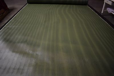 "1000 Denier 60""W Camo Green Resin Coated Kevlar® Para-Aramid Synthetic Fabric"