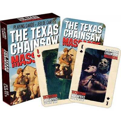 The Texas Chainsaw Massacre playing cards Fully licensed Brand new and sealed