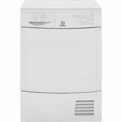 Indesit IDC8T3B Eco Time 8Kg Condenser Tumble Dryer White New from AO