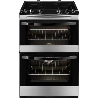 Zanussi ZCV680TCXA Avanti Free Standing Electric Cooker with Ceramic Hob 60cm