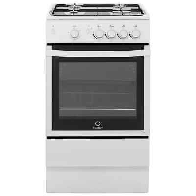 Indesit I5GGW Free Standing Gas Cooker with Gas Hob 50cm White New