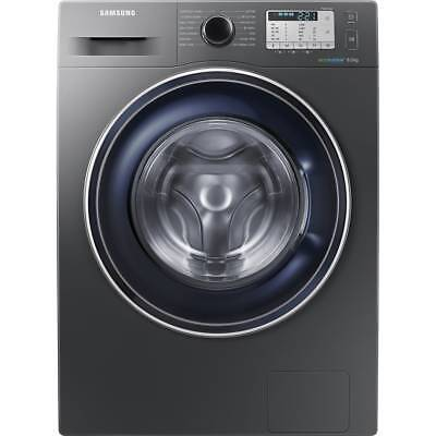 Samsung WW80J5555FC Ecobubble A+++ 8Kg Washing Machine Graphite New from AO