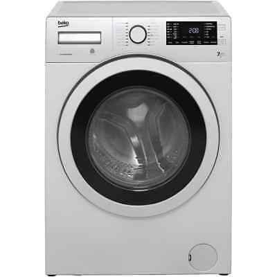 Beko WDR7543121S Free Standing 7Kg Washer Dryer Silver New from AO