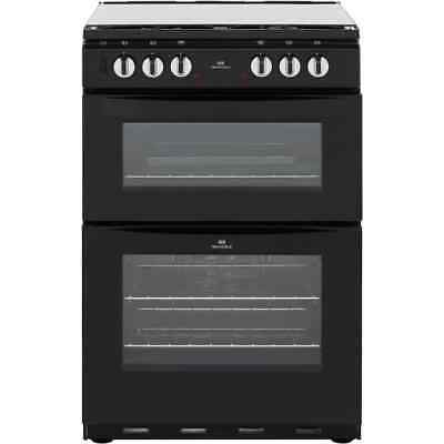 Newworld NW601DFDOL Free Standing Dual Fuel Cooker with Gas Hob 60cm Black New