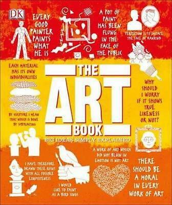 NEW The Art Book By Caroline Bugler Hardcover Free Shipping