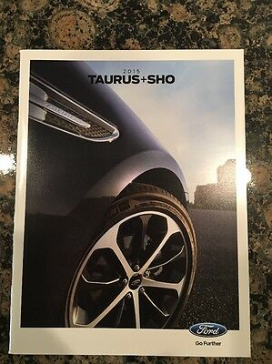 2015 Taurus + Sho Ford Catalog Sales Brochure