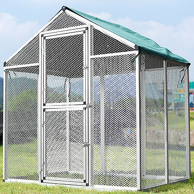 Large Heavy Duty Bird Pet Parrot Cockatiel Cockatoo Cage Cover Green/Red New