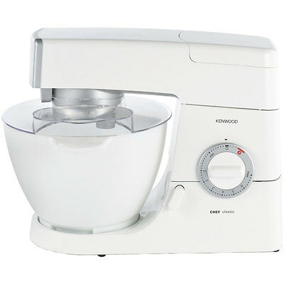 Kenwood KM330 Classic Chef Stand Mixer with 4.6 Litres Bowl 800 Watt White New