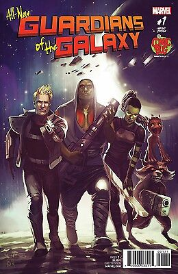 ALL NEW GUARDIANS OF GALAXY #1 Comic Bug EXCLUSIVE VARIANT COVER 2017 Hans