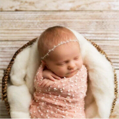 Newborn Mini  Hot Vintage Style Photography Props Wrap Cloth Small Ball Blanket