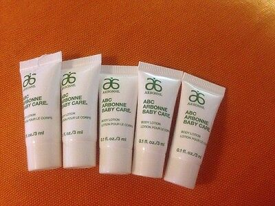 Arbonne Abc Baby Body Lotion 5 X3 Mls